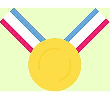 For the Gold (Medal)! - Olympics Rio 2016 Photographic Print