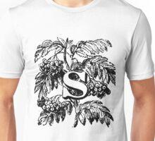Plant Alphabet Letter S Unisex T-Shirt