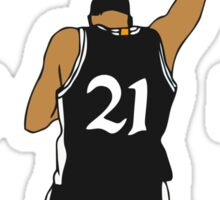 WE WILL MISS YOU TIM DUNCAN Sticker