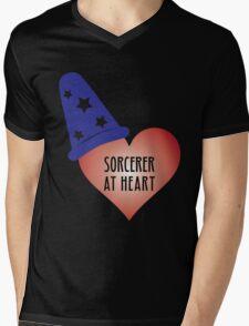 Sorcerer at Heart Mens V-Neck T-Shirt