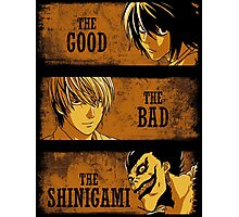 The Good, the Bad and the Shinigami Photographic Print