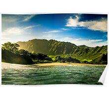 Makua Valley Poster