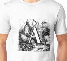 Renaissance Alphabet Letter A  Unisex T-Shirt