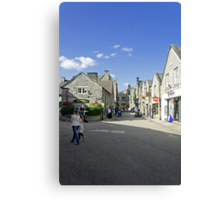 Water Street, Bakewell Canvas Print