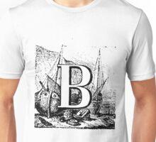 Renaissance Alphabet Letter B  Unisex T-Shirt