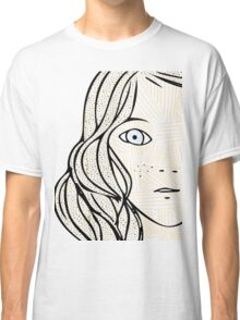 Girl with the sad eyes Classic T-Shirt