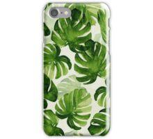 tropical leaf 2.0 iPhone Case/Skin