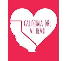 California Girl at Heart Photographic Print