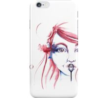 Bubbles - by Holly Elizabeth iPhone Case/Skin