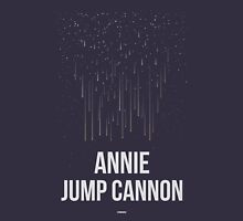 ANNIE JUMP CANNON (Light Lettering) - Clothing & Other Products Unisex T-Shirt