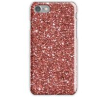 Rose Gold Glitter iPhone Case/Skin