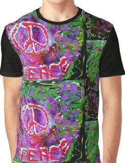 Peace Pie Graphic T-Shirt
