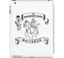 The bannered mare (Skyrim) iPad Case/Skin