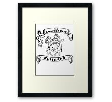 The bannered mare (Skyrim) Framed Print