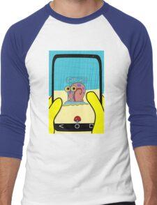 SpongeBob GO! Gary Snail Men's Baseball ¾ T-Shirt