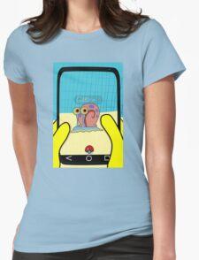 SpongeBob GO! Gary Snail Womens Fitted T-Shirt