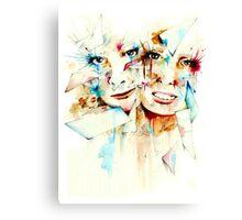 Fragmented - by Holly Elizabeth Canvas Print