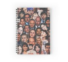 The Office Collage  Spiral Notebook
