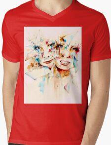 Fragmented - by Holly Elizabeth Mens V-Neck T-Shirt