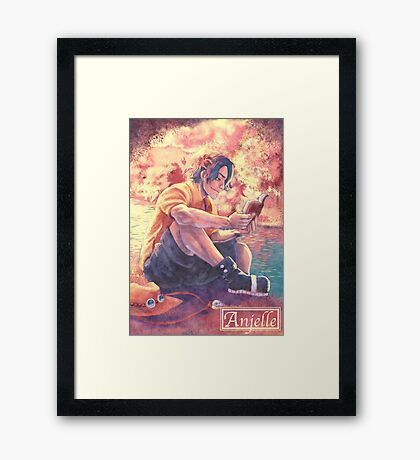 Ace - Reading Framed Print