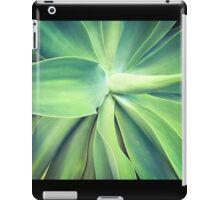Green in the garden iPad Case/Skin
