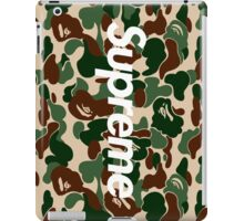 Supreme x A Bathing Ape Bape Camo  iPad Case/Skin