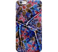 Trendy Floral Pattern Vintage iPhone Case/Skin