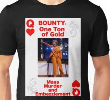 Wanted QUEEN of HEARTS Unisex T-Shirt