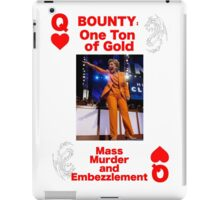 Wanted QUEEN of HEARTS iPad Case/Skin