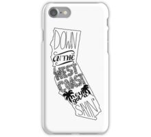 Down On The West Coast... iPhone Case/Skin