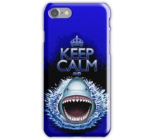 Keep Calm and...Shark Jaws Attack! iPhone Case/Skin