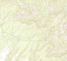 USGS TOPO Map Arizona AZ Willow Mountain 20111031 TM Sticker
