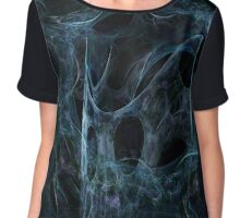 Caught in a spider web Chiffon Top