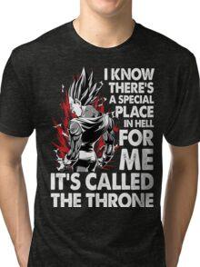 super saiyan vegeta shirt - RB00213 Tri-blend T-Shirt