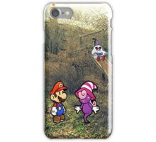 Mario Ghost Park iPhone Case/Skin