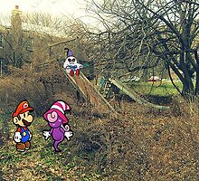 Mario Ghost Park by Karmatous