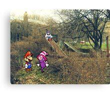 Mario Ghost Park Canvas Print