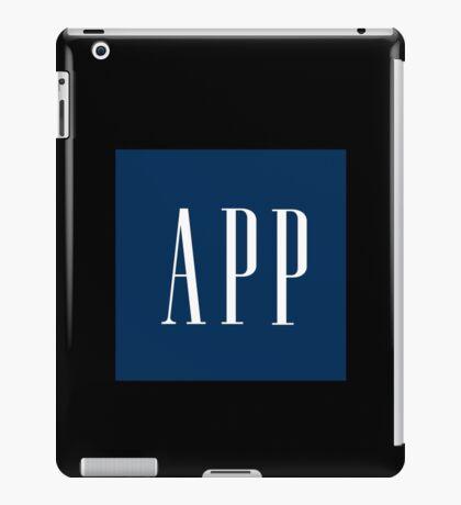 App (Gap parody) iPad Case/Skin
