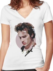 Jeff Buckley Women's Fitted V-Neck T-Shirt