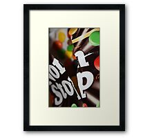 Non Stop Chocolate Framed Print