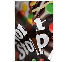Non Stop Chocolate Poster