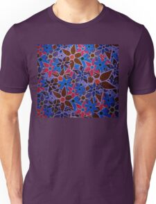 Trendy Floral Pattern Vintage Unisex T-Shirt