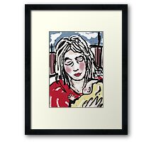 Mother and Baby 1A Framed Print
