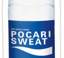 POCARI SWEAT (ポカリスエット Pokari Suetto) SEXY AF Sticker