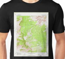 USGS TOPO Map Arizona AZ Music Mountains NE 312563 1968 24000 Unisex T-Shirt