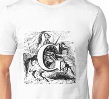 Renaissance Alphabet Letter G Unisex T-Shirt