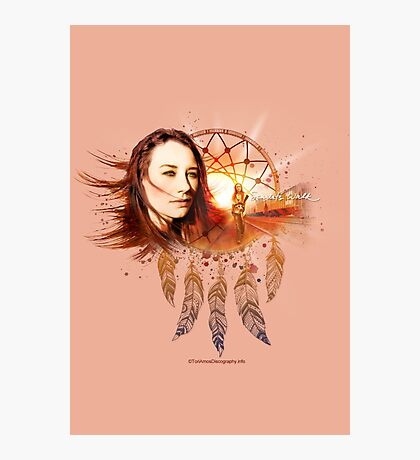 Scarlet's Walk Design from ToriAmosDiscography.info Photographic Print