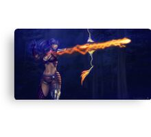 Archer elf Canvas Print