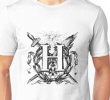 Renaissance Alphabet Letter H Unisex T-Shirt