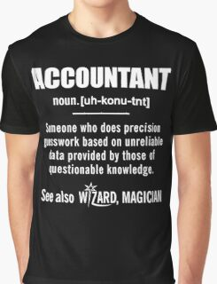 Accountant Gifts - Accountant Definition Shirt Graphic T-Shirt